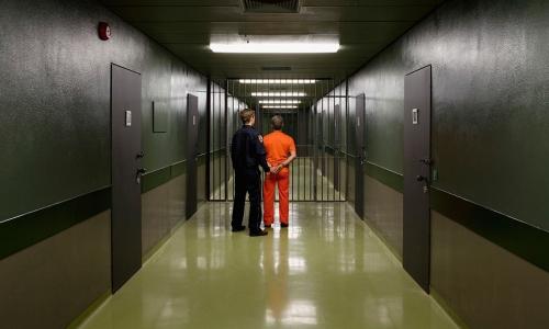 监狱看守所过道门门禁