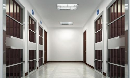 监狱看守所监仓门门禁系统