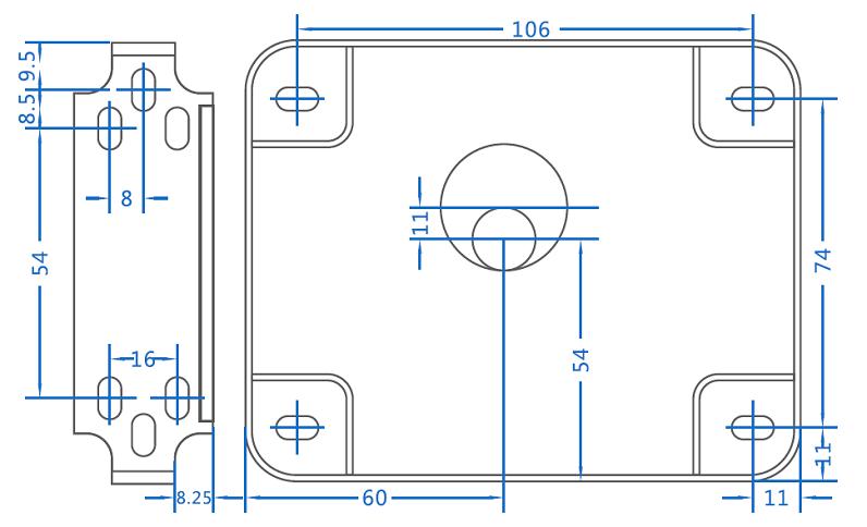 灵性锁尺寸规格图